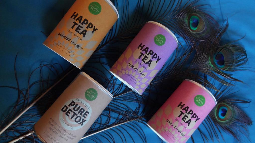Natural Mojo - thés détox et boissons amincissantes - healthy