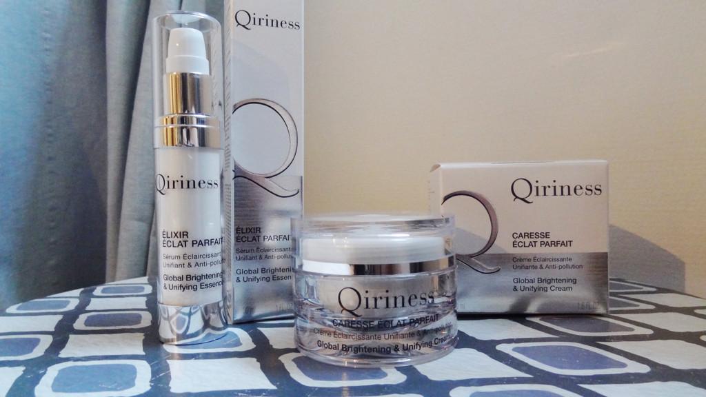 Qiriness - une nouvelle gamme anti-pollution - éclat parfait