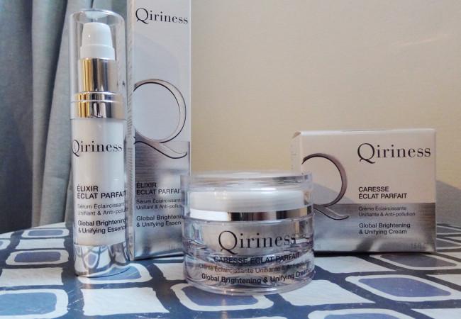 Qiriness – une nouvelle gamme anti-pollution  – éclat parfait