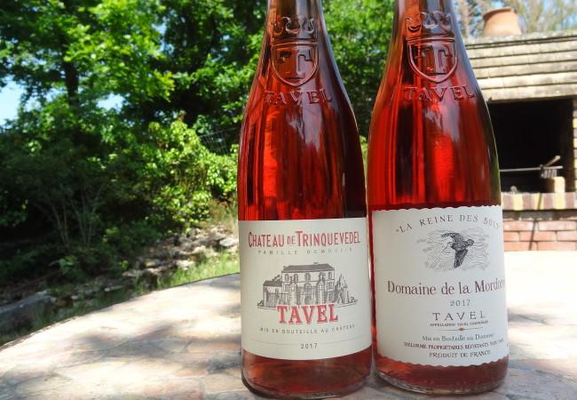 Tavel – des rosés délicieux de la Vallée du Rhône