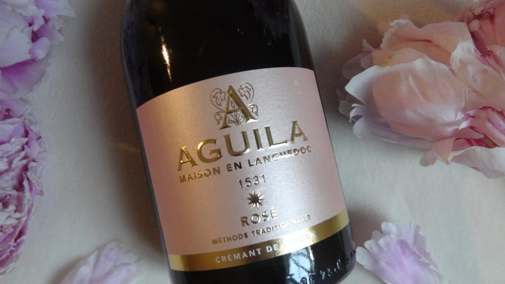 Aguila - AOC crémant de Limoux - un brut rosé très estival
