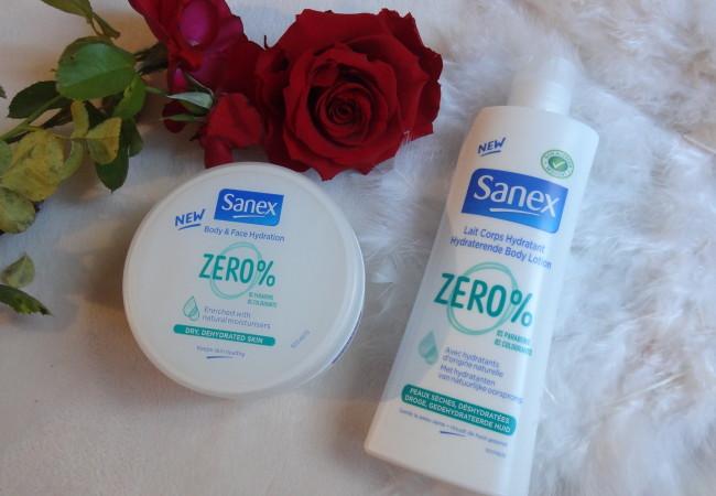 Sanex – nouveaux soins hydratants corps Zero %