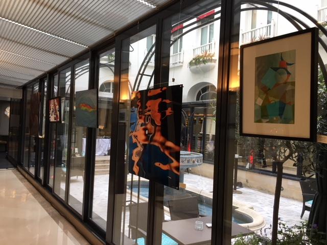 "Exposition ""Rétrospective"" - Hôtel California"
