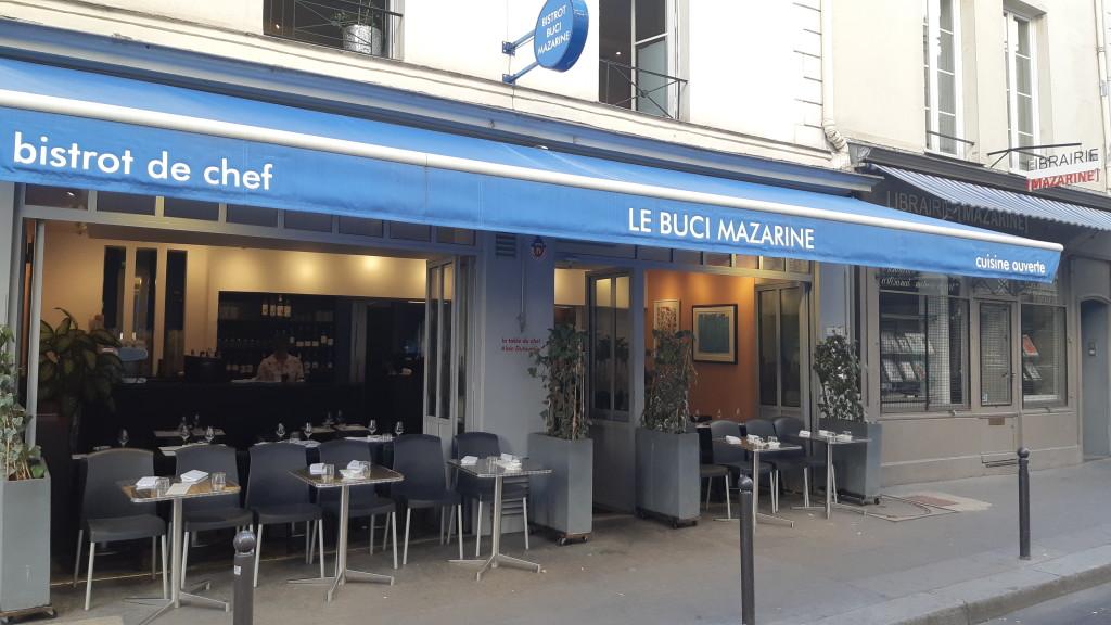 Bistrot Buci Mazarine - Saint-Germain-des-Prés - chef deux étoiles Alain Dutournier