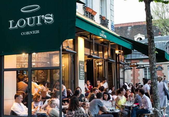 Loui's Corner – superbe terrasse – gastronomie américaine – Canal Saint Martin