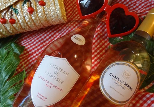 Des rosés Côtes de Provence – deux bouteilles d'exception