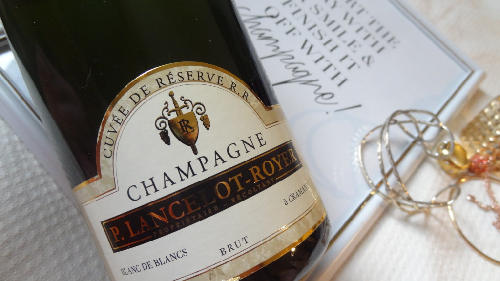 Champagne P. Lancelot-Royer - un blanc de blanc estival