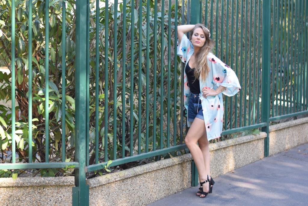 AW Bridal - un kimono chic pour l'été - le peignoir réinventé