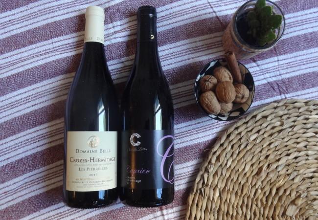 Vins d'automne – AOC Crozes Hermitage – vins rouges