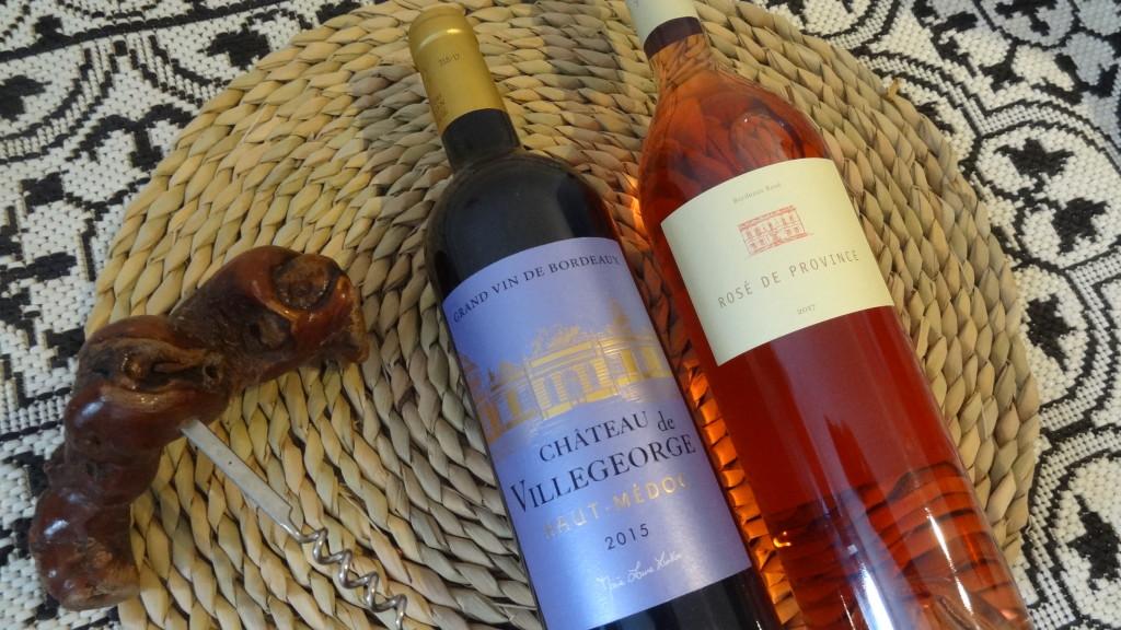 Vins de Bordeaux estivaux - Château de Villegorge et Château Bonnange