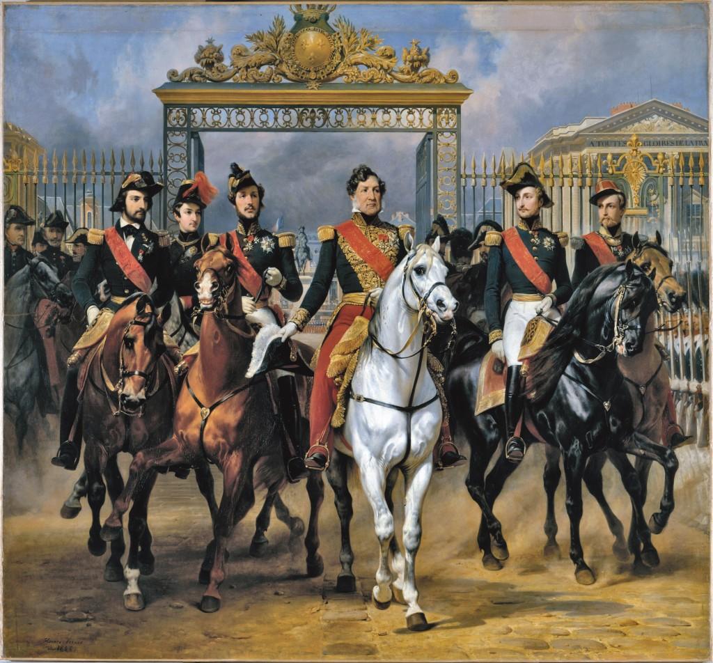 L'exposition Louis Philippe et Versailles - visite des espaces de galeries historiques