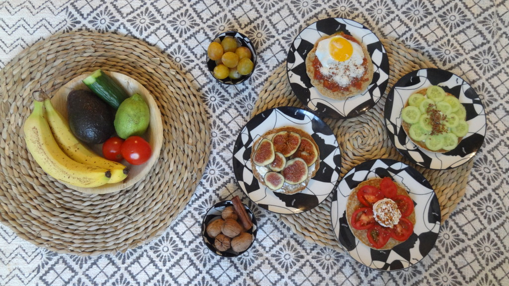 Brunch healthy - les galettes de son d'avoine - Dukan