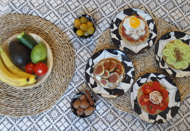 Brunch healthy – les galettes de son d'avoine – Dukan