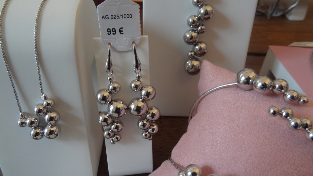 Cléor - collection Bellissima - bijoux en argent