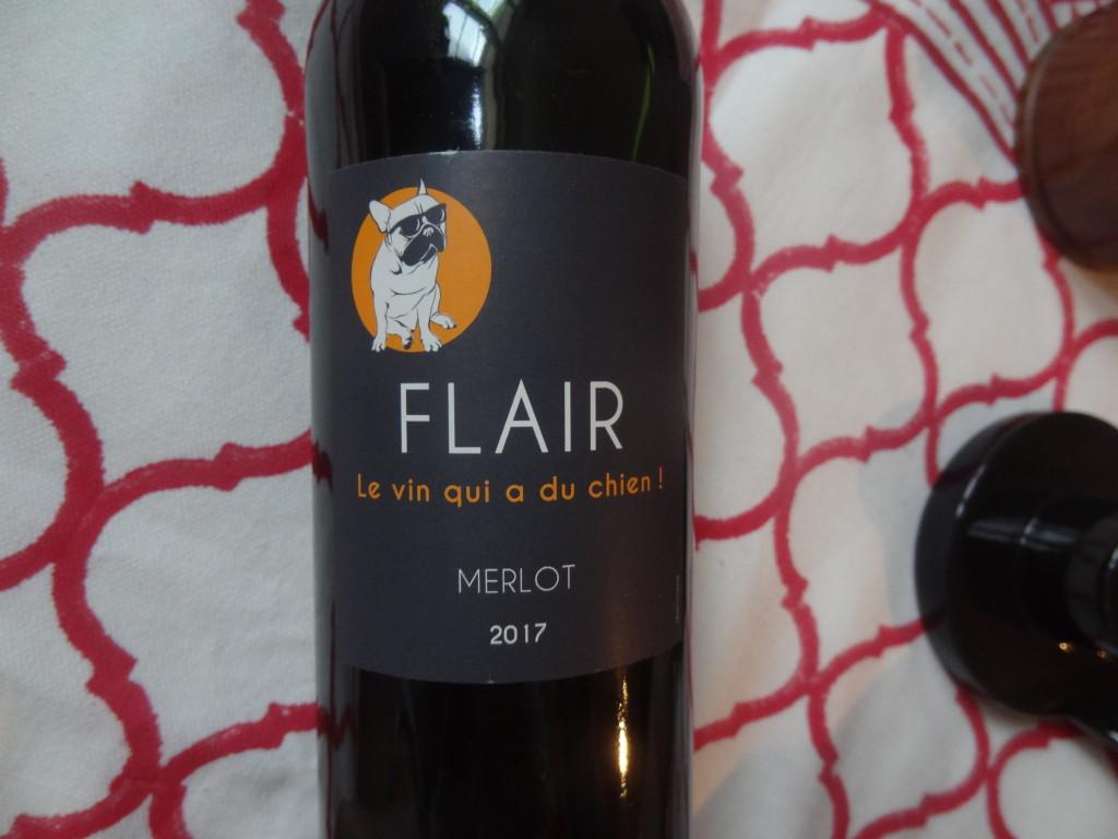 Les vignerons de Tutiac - Cuvée Flair - Merlot - Bordeaux rouge 2017