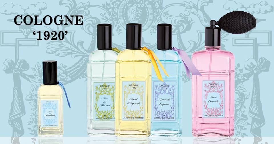 Jardin de France - parfumeur depuis 1920 - Eaux de Cologne