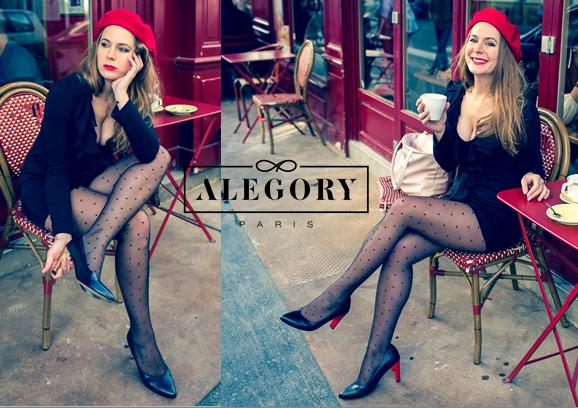 Alegory Paris – escarpins à talons interchangeables – Made in Paris