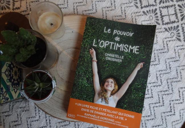 Editions Idéo – Le pouvoir de l'optimisme – Christelle Crosnier