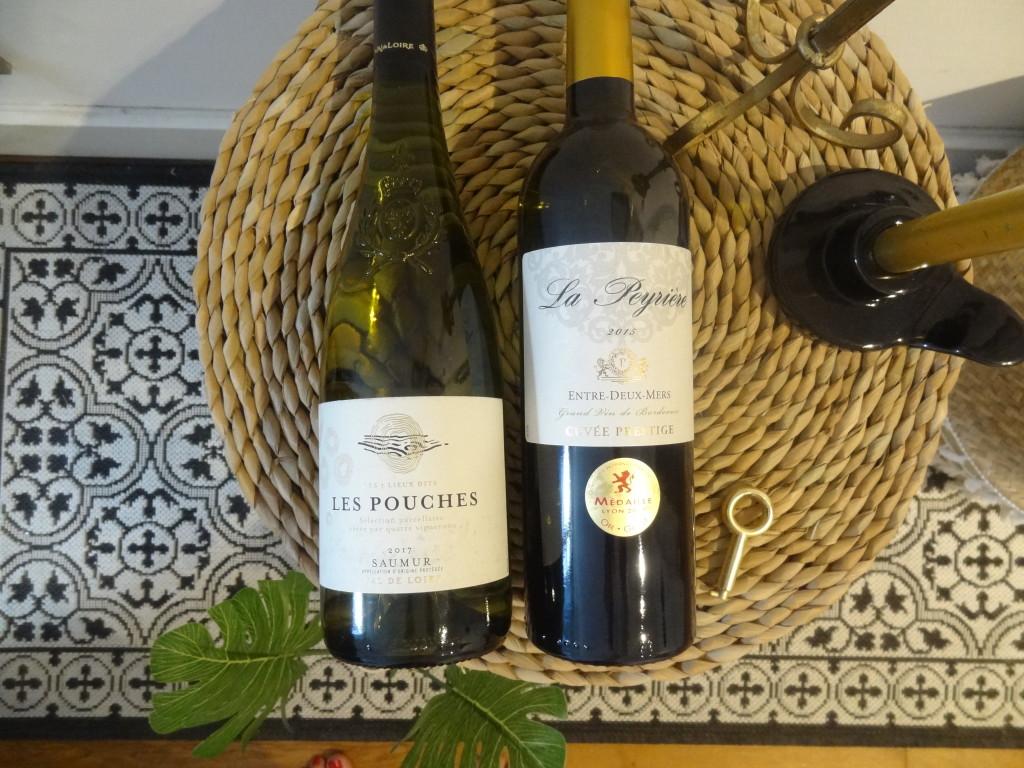 Sélection vins blancs - Grand vin de Bordeaux et Saumur