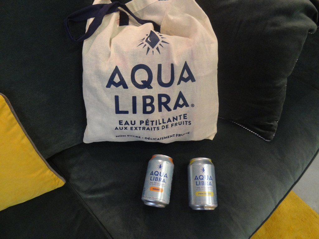 Aqua Libra - eau pétillante aux extraits de fruits - pause bien-être