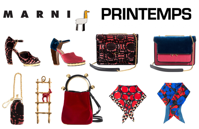 Marni x Printemps - une collection exclusive pour Noël