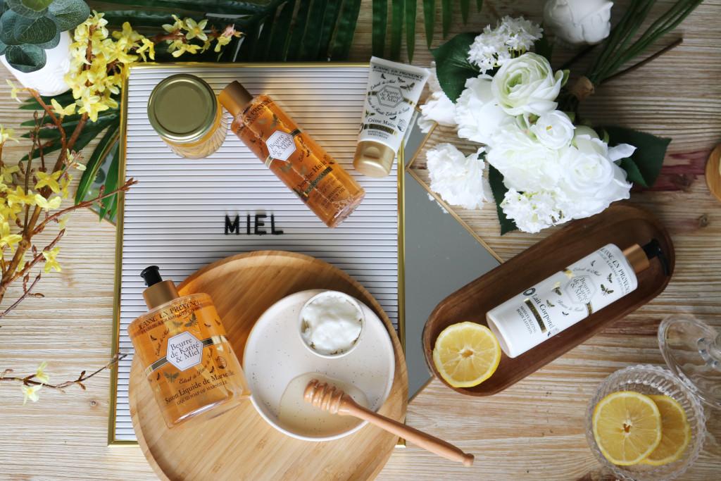 Jeanne en Provence - gamme pour le corps - beurre de karité et miel