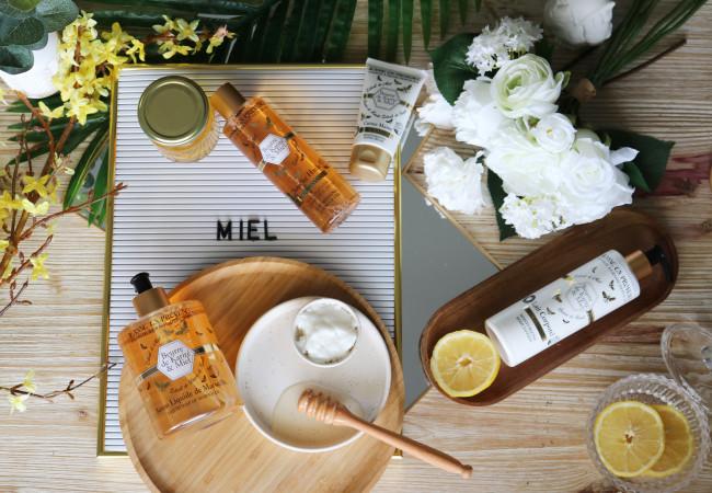 Jeanne en Provence – gamme pour le corps – beurre de karité et miel