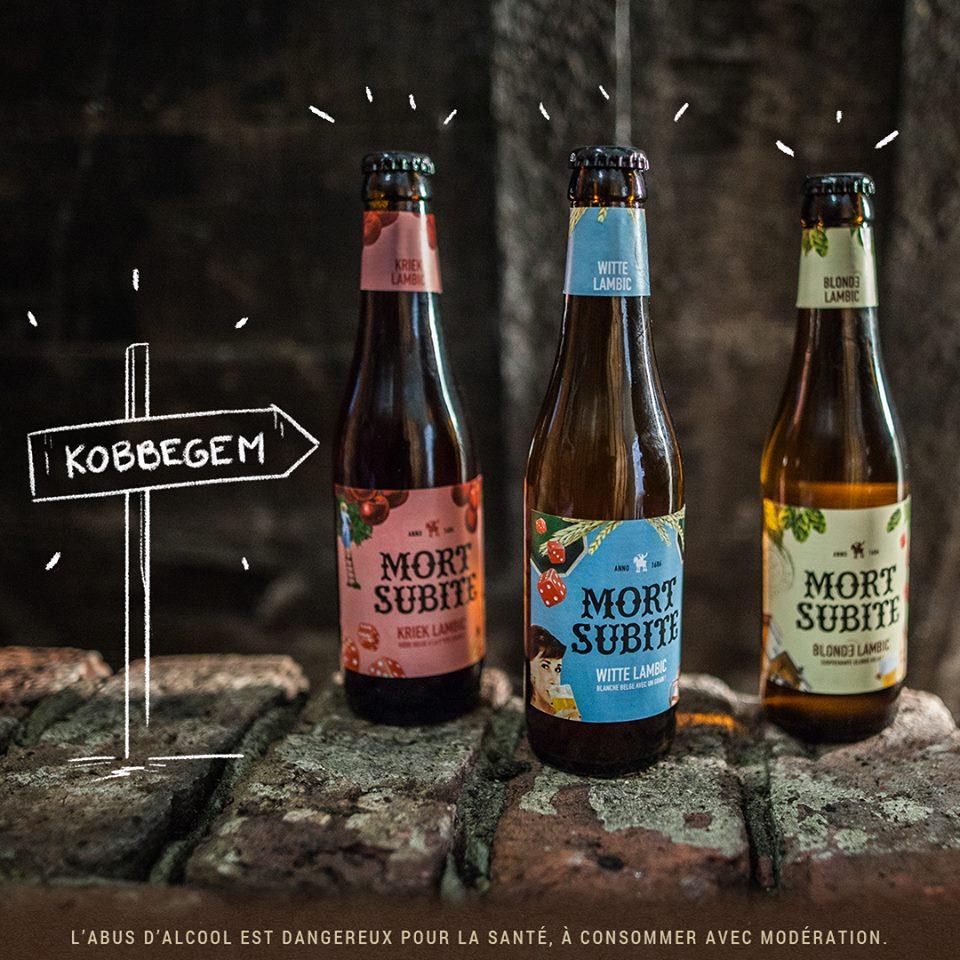 Mort Subite - bière - Kriek Lambic et Witte Lambic