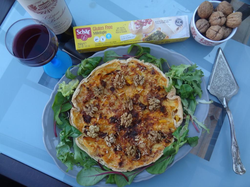 Tarte salée Butternut et comté - recette savoureuse - Schär