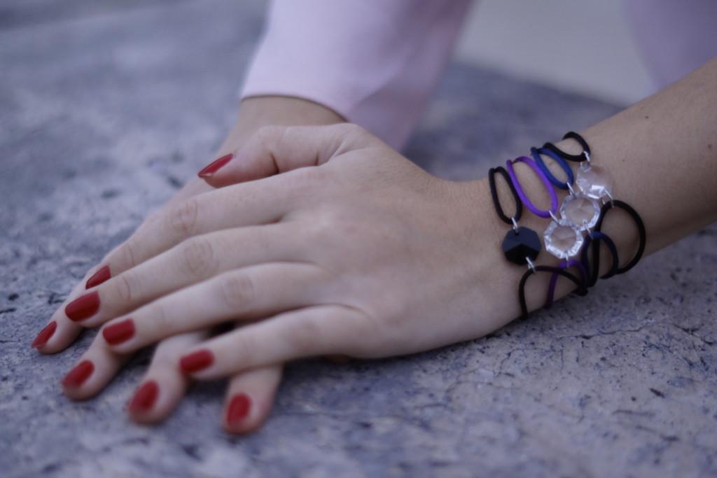 MV Bracelet - bracelets en cristal - bijou unisexe