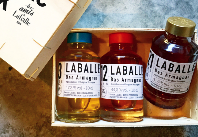 Armagnac – Maison Laballe –  collection 3-12-21 – coffret de dégustation