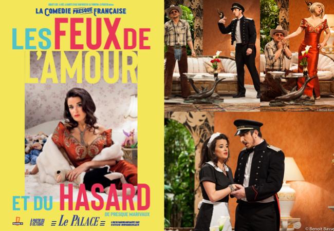 Les feux de l'amour et du hasard – comédie au théâtre du Palace