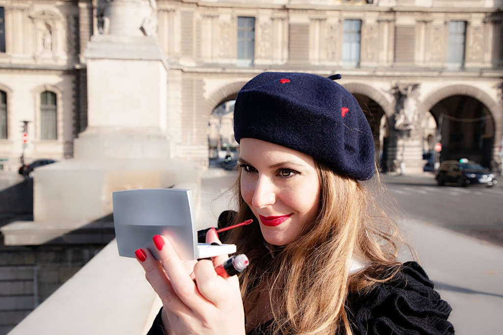Nu Skin - nouvelle ligne de maquillage - palette eye shadows et rouge à lèvres