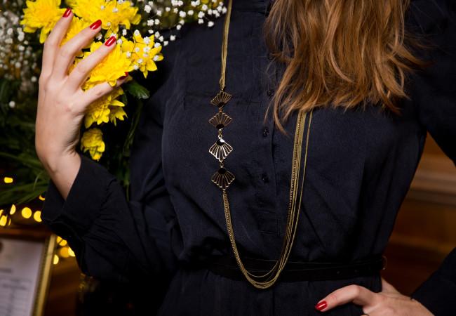 Virginie Mahé – bijoux et accessoires de mode – sautoir art déco