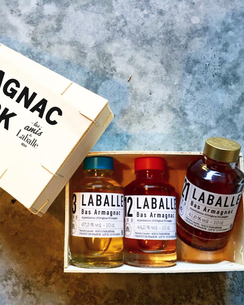 Armagnac - Maison Laballe -  collection 3-12-21 - coffret de dégustation
