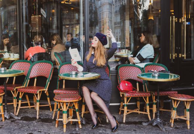Shopping for Happiness – bérets brodés à la main – Made in Paris