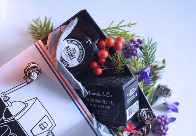 Mamie and Co – le coffret de Noël naturel – gourmandise et bien-être