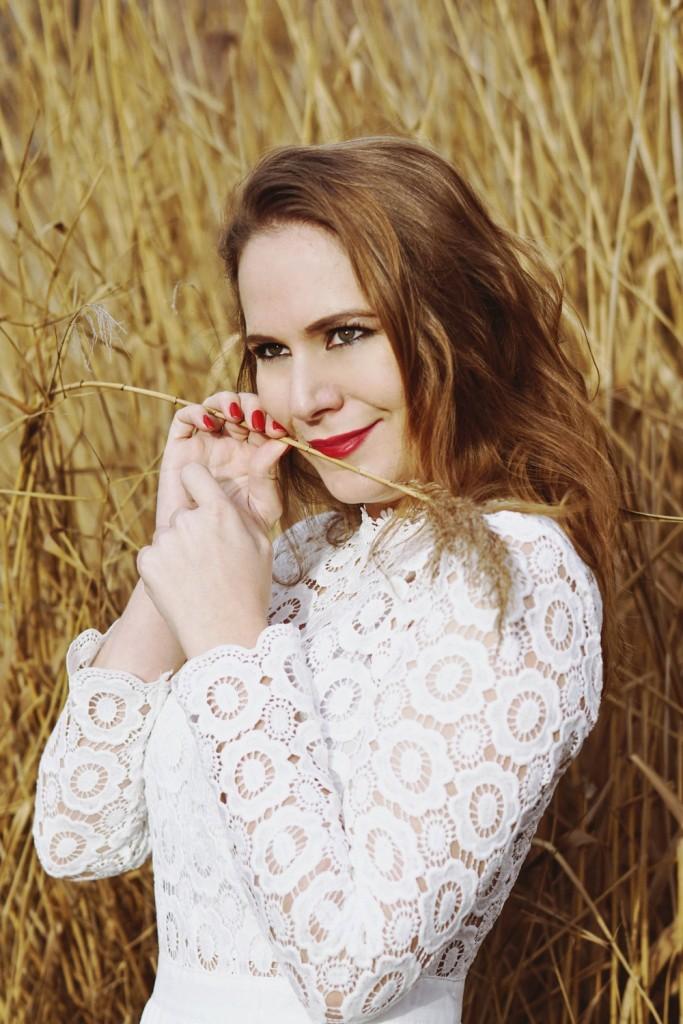 JJS House - inspiration mode - la robe blanche romantique