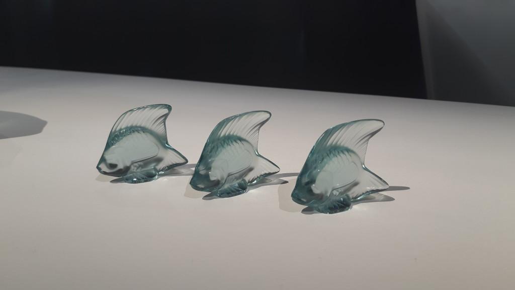 Lalique - collection Aquatique - le cristal et la nature