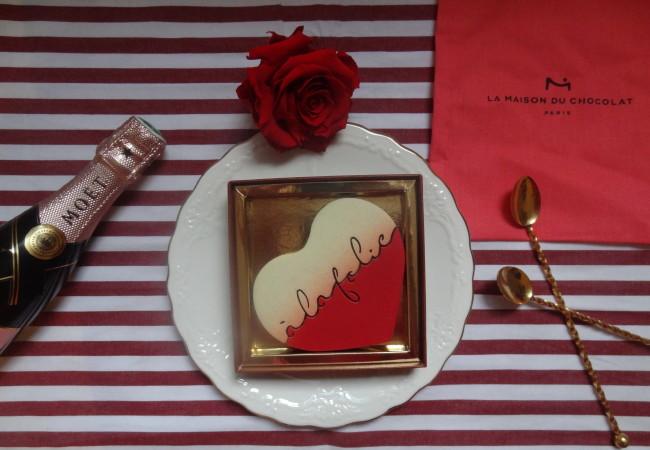 La Maison du Chocolat – cœur praliné – Saint Valentin