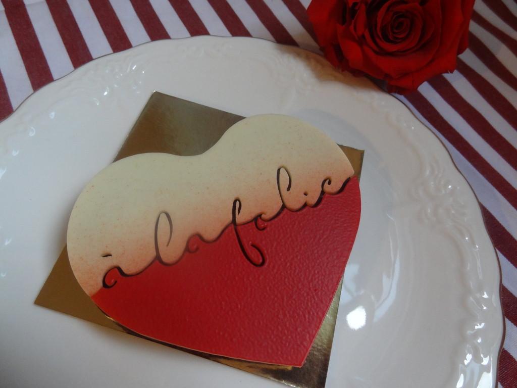 La Maison du Chocolat - cœur praliné - Saint Valentin