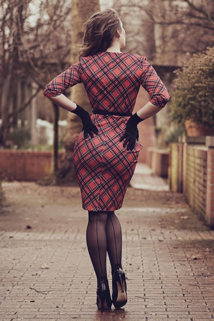 JJ'S House - robes tendance - l'imprimé écossais