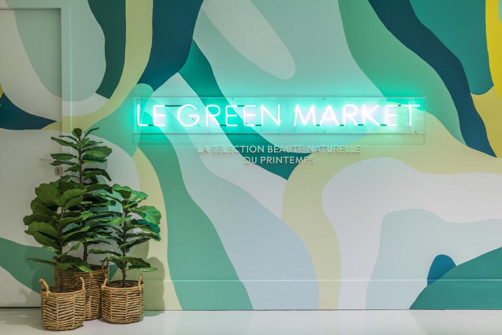 Le Green Market du Printemps