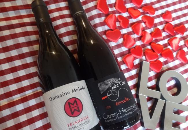 Du rouge pour l'amour – sélection de vins spécial Saint Valentin