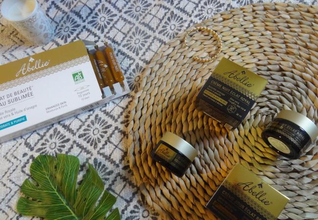 Les cosmétiques bio au miel de la marque Abellie
