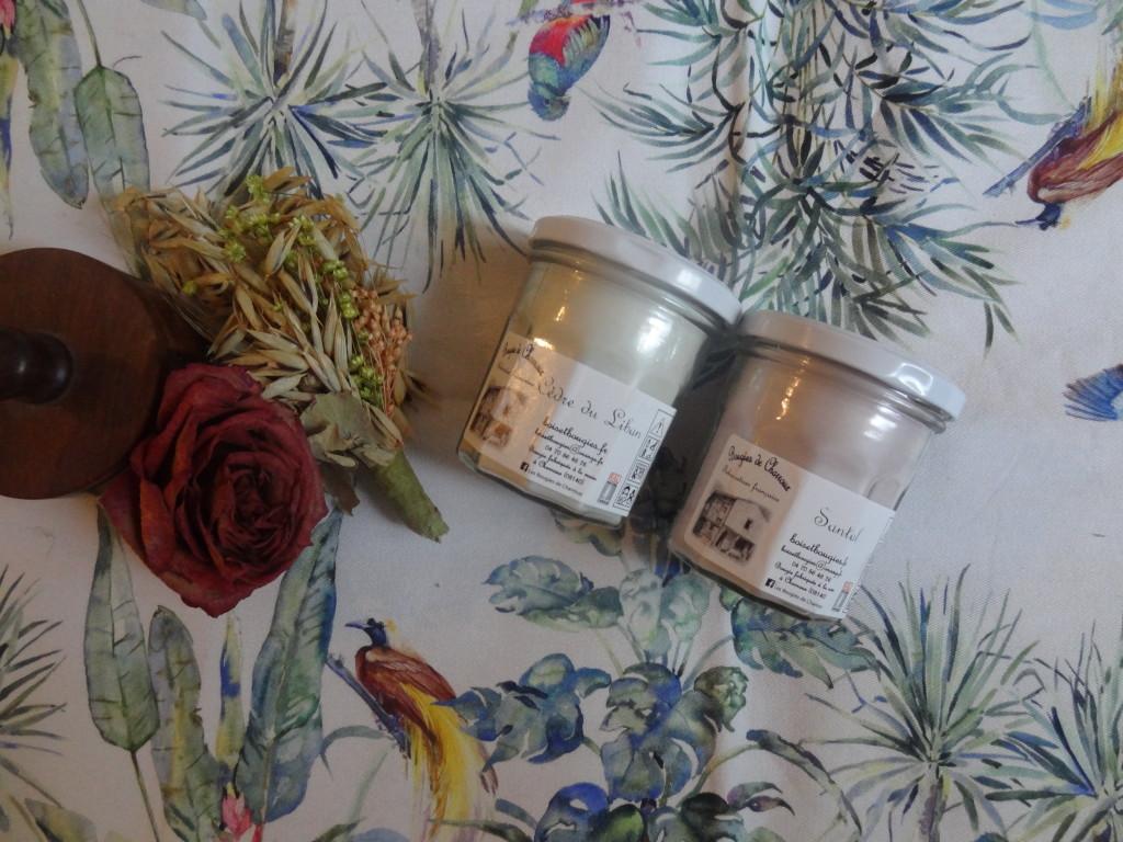 Les Bougies de Charroux - Bougies Santal et Cèdre du Liban