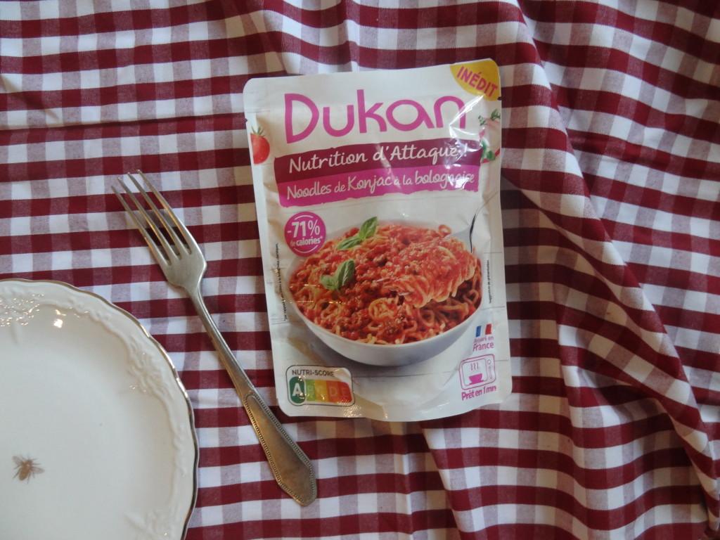 Les noodles de Konjac à la bolognaise Dukan