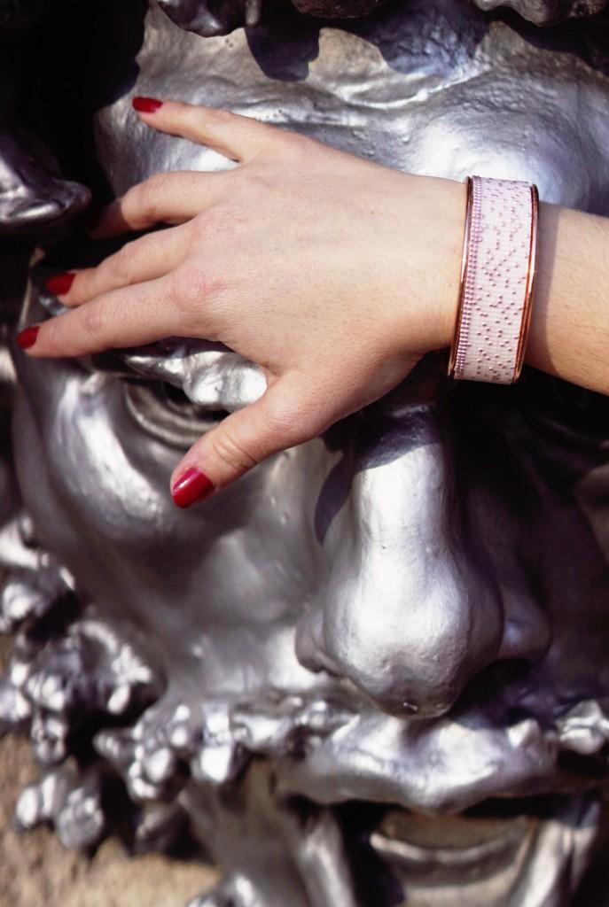 Noir Colibri - bijoux artisanaux - manchettes ethniques