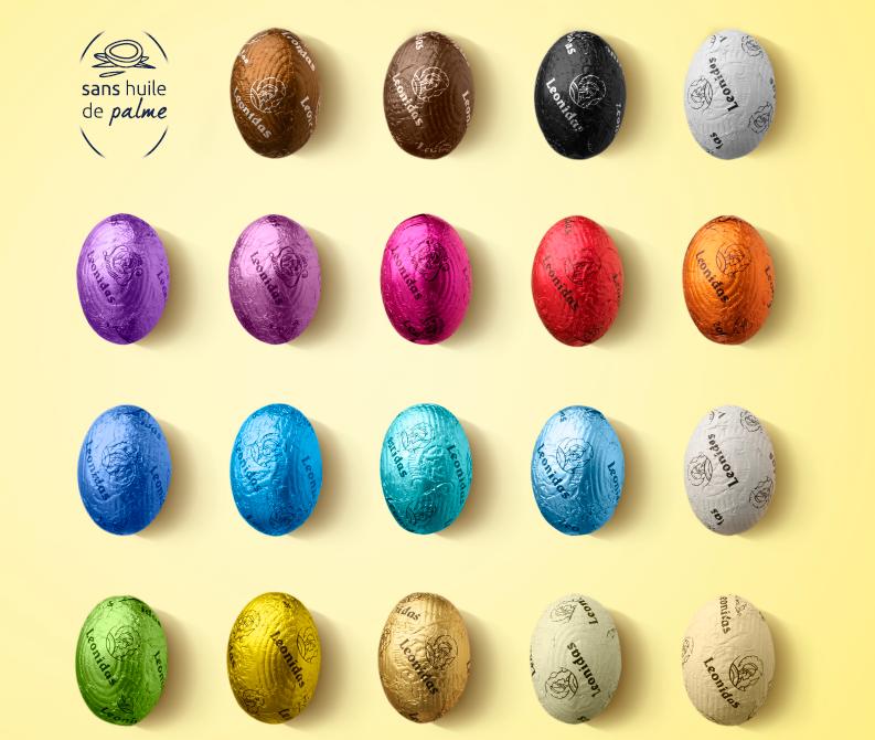 Leonidas - les œufs de Pâques du Maître-Chocolatier