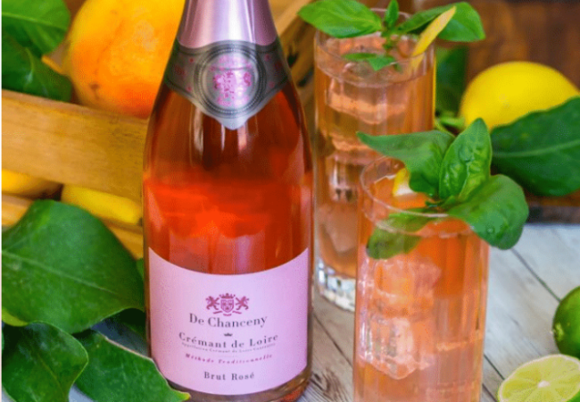 De Chanceny – Crémant de Loire rosé brut – cocktail gourmand